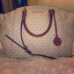 Monogram Michael Kors Satchel